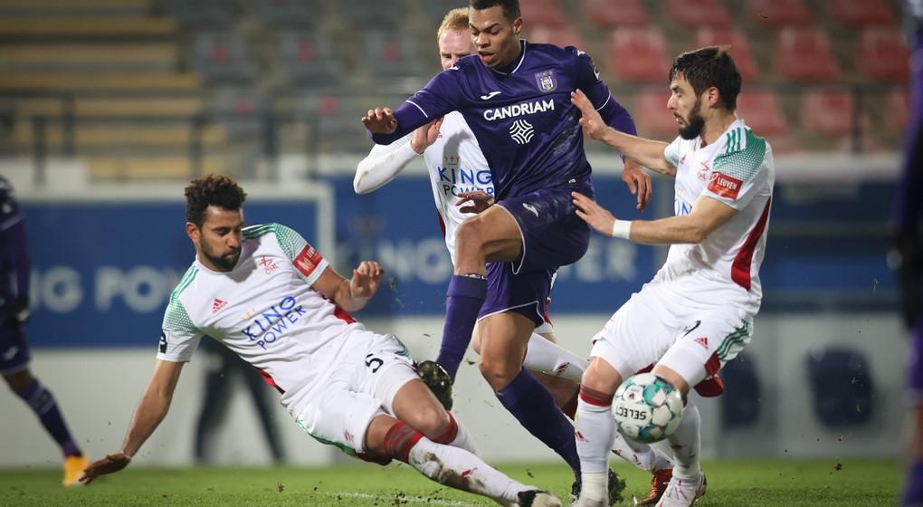 Lukas Nmecha Bataille OHL RSC Anderlecht - Belga Virginie Lefour