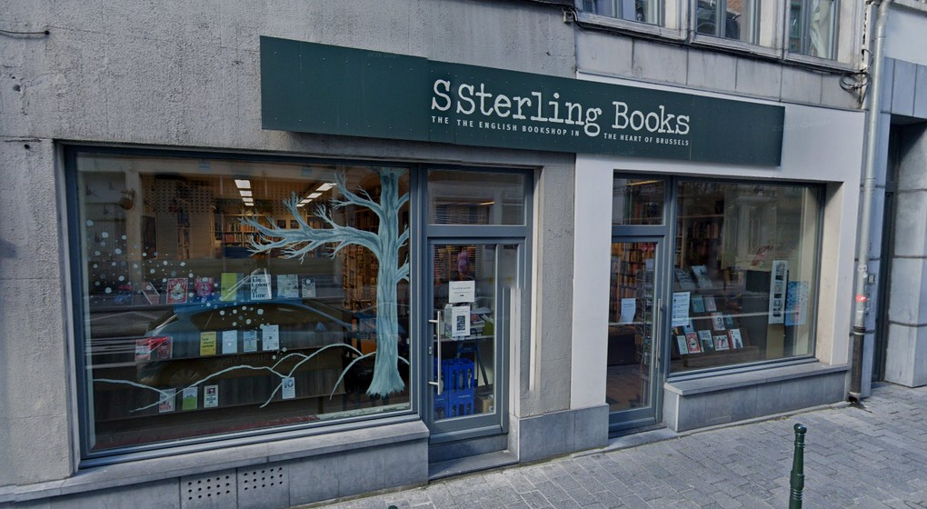 Magasin Sterling Books Bruxelles - Google Street View