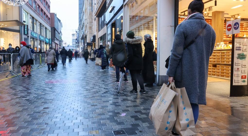 Magasins Rue Neuve Décembre 2020 - Belga VIrginie Lefour