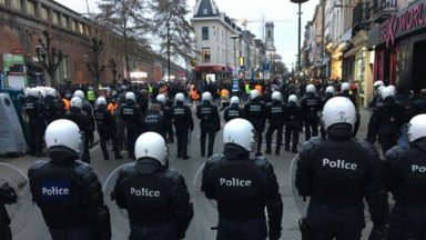 Manifestation du 13 janvier à Saint-Josse et Schaerbeek : 14 suspects arrêtés