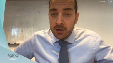"""Mathieu Michel : """"En soutenant Bruxelles, c'est l'ensemble du pays que nous soutenons"""""""