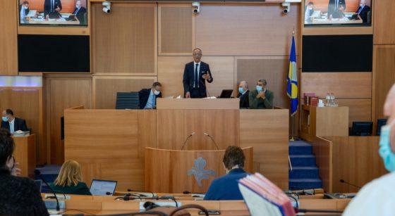 Parlement bruxellois Rachid Madrane Commission Covid-19 - Belga Nicolas Maeterlinck