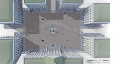 La place Royale tient son projet de rénovation : elle va devenir piétonne à 80%