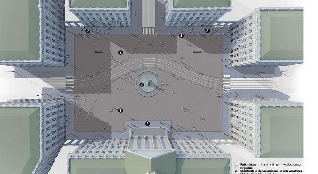 Réaménagement Place Royale - Dossier Beliris 2020