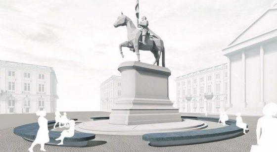 Réaménagement Place Royale Statue - Dossier Beliris 2020