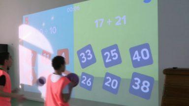 Les salles de gym interactives font un tabac à Bruxelles : cinq écoles déjà équipées