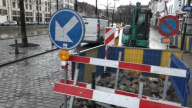 Bruxelles : des travaux d'impétrants au Vismet jusqu'au 30 mai
