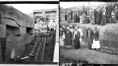 Une plongée belge dans les premières fouilles archéologiques en Égypte
