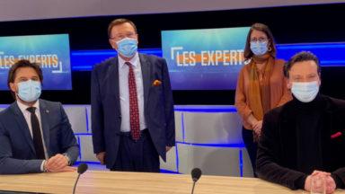 Duel des présidents de parti : Georges-Louis Bouchez (MR) et François De Smet (DéFI) dans Les Experts