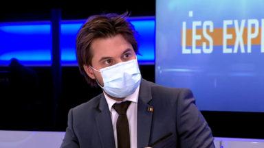 Port du voile : Georges-Louis Bouchez demande l'audition du patron Julien Nicaise