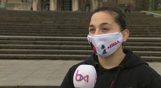 La Bruxelloise judokate en interview