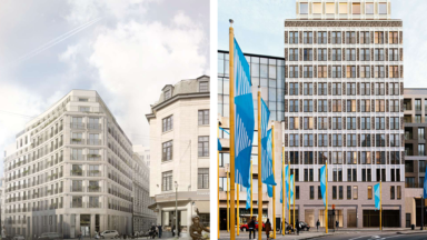 Projet Lebeau : des services du Parlement bruxellois vont déménager dans l'ancien hôtel Belgacom