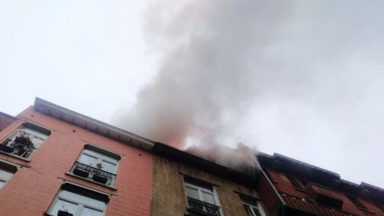 Saint-Gilles : incendie dans une chambre mansardée