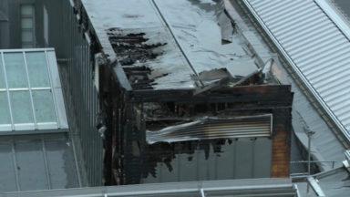 Incendie de Bozar : un travail complexe pour les pompiers