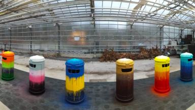 Jette : de nouvelles poubelles graffées, pour combiner street art et propreté