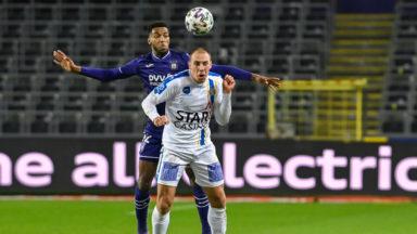 Jupiler Pro League : Anderlecht a buté sur Waasland-Beveren