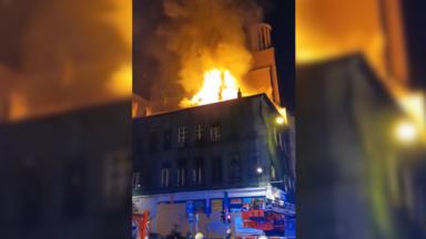 Saint-Josse : quatre pompiers et un squatteur blessés dans un incendie