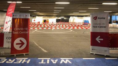 Brussels Airport : l'augmentation de sa capacité de tests globalement bien gérée ce samedi