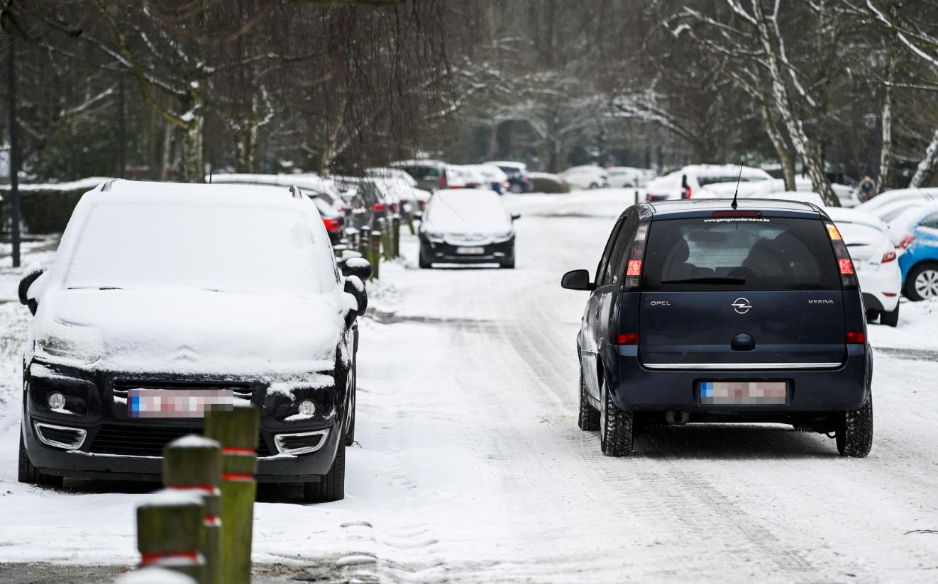 neige voitures verglas