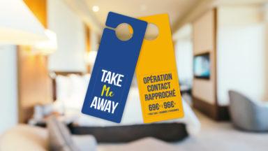 """Du 12 au 21 février, les hôtels bruxellois organisent l'opération """"Contact rapproché"""""""