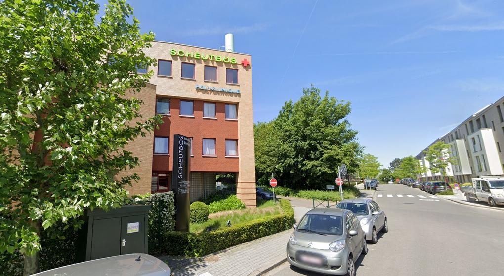 Centre gériatrique Polyclinique Scheutbos - Capture Google Street VIew