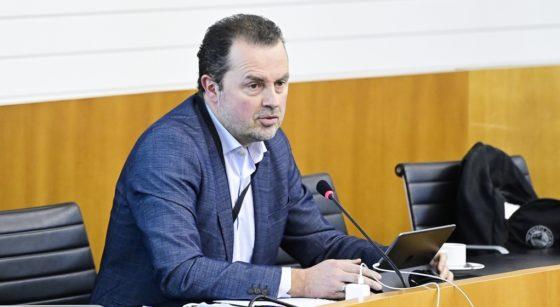 Christophe Magdalijns - Député bruxellois Commission Covid - Belga Laurie Dieffembacq