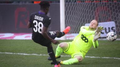 Clasico : Anderlecht renoue avec la victoire en s'imposant 1-3 face au Standard