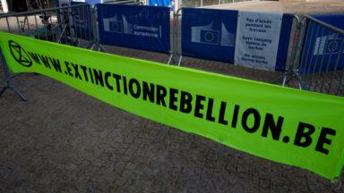 Bruxelles : Extinction Rebellion veut occuper les hauts-lieux de la finance