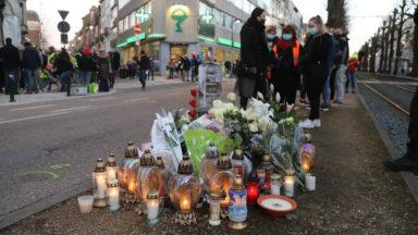 Forest : cyclistes et riverains rendent hommage à la jeune femme décédée sur l'avenue Albert