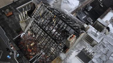 Plusieurs logements inhabitables après un incendie près de la station Belgica (photos)