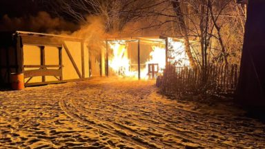 """Incendie au parc d'attraction Sortilège: """"Tout le matériel est détruit"""""""