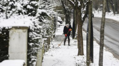 Météo : des températures toujours très froides mais pas de neige à Bruxelles