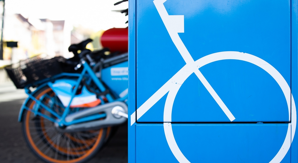 Parking Vélo Stationnement - Belga Benoit Doppagne