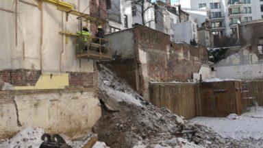 Un mur de jardin s'effondre dans la rue du Vallon à Saint-Josse : neuf habitants évacués