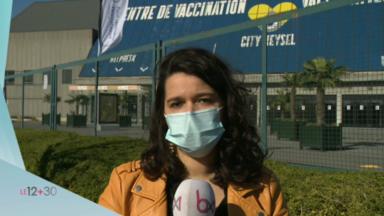 Vaccination à Bruxelles : le centre du Heysel quasi désert
