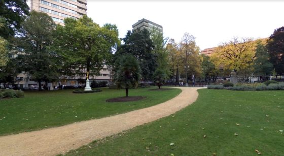 Square de Meeus Ixelles - Google Street View