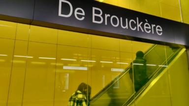 STIB : la rénovation de la station De Brouckère est terminée