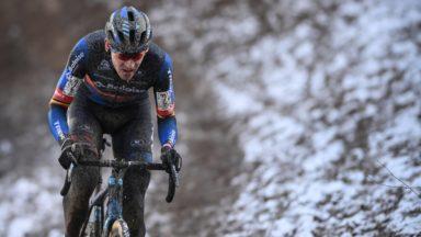 Cyclo-cross : neige, glissades et beaucoup de spectacle au Brussels Universities Cross