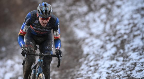 Toon Aerts Vainqueur Brussels Univerisities Cyclo-cross 2021 - Belga David Stockman
