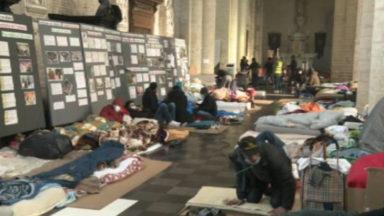 Pas de régularisation collective pour les occupants de l'église du Béguinage