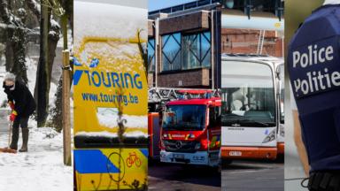 Pompiers, Touring, STIB, police : avec le froid, le bilan de ces dernières heures à Bruxelles