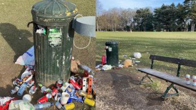 Bois de la Cambre : les poubelles débordent, des équipes de nettoyage supplémentaires dépêchées