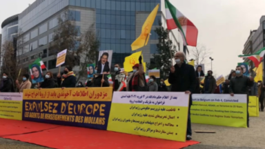Manifestation : des ressortissants iraniens demandent à l'UE de sanctionner le régime