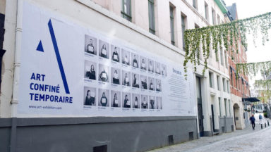 """Ville de Bruxelles : """"Art Confiné Temporaire"""" ou l'exposition directement dans les vitrines de commerces"""