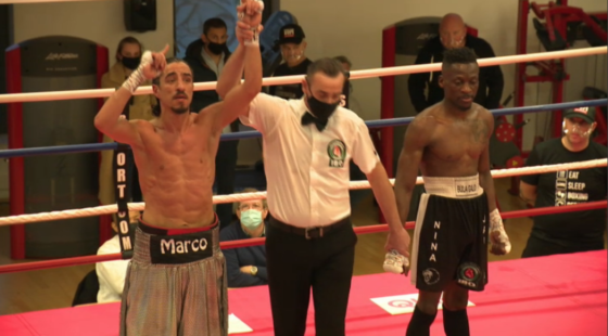 Mohamed El Marcouchi remporte la ceinture IBO