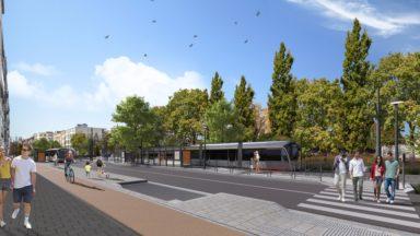 Un nouveau projet de la Stib pour le quartier du Cimetière de Jette à l'enquête publique