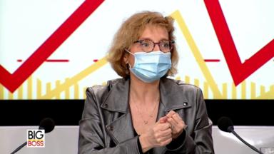 Big Boss reçoit Marie-Pierre Fauconnier, directrice générale de Sibelga