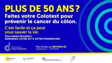 Cancer du colorectal : voici comment les + de 50 ans peuvent récupérer leur test gratuit