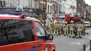 Une centaine d'interventions de pompiers de Bruxelles en raison des rafales de vent