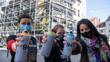 Journée des droits des femmes: une nouvelle fresque pour le parcours street art